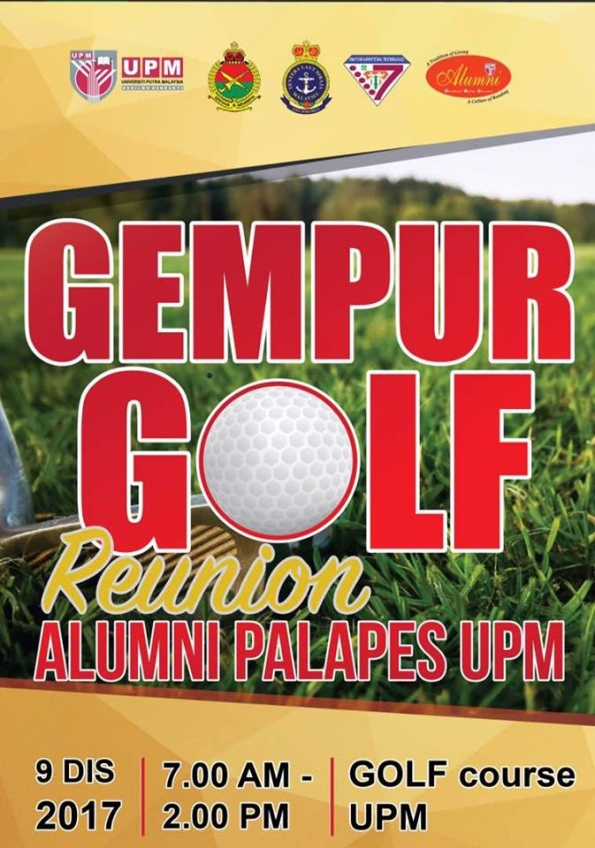 GEMPUR GOLF REUNION ALUMNI PALAPES UPM